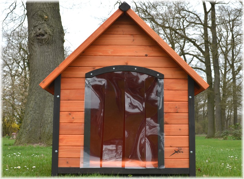dog house l hundeh tte mit satteldach 95 109 104 cm. Black Bedroom Furniture Sets. Home Design Ideas