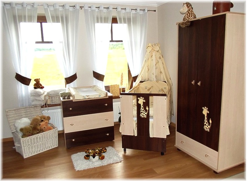 paula braun babybett kinderbett wickelkommode schrank komplettset mit bettzeug ebay. Black Bedroom Furniture Sets. Home Design Ideas