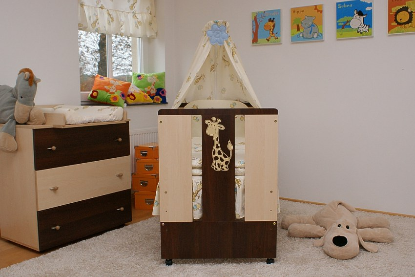 paula set bett kommode babybett kinderbett wickelkommode komplettset 12 teile ebay. Black Bedroom Furniture Sets. Home Design Ideas